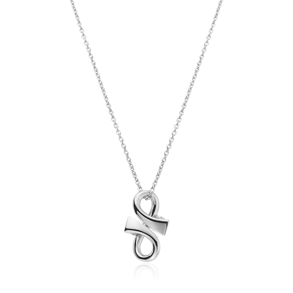 Sterling Silver 'GC' Pendant