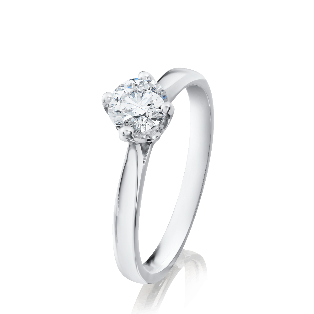 2b2895cb5 Four Claw Single Stone Diamond Engagement Ring (1168)