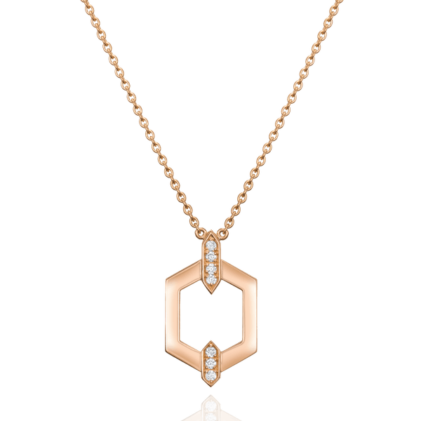 Nectar Collection Rose Gold Pendant